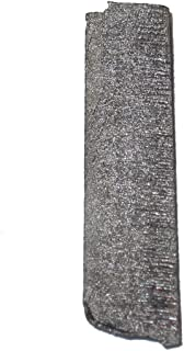 Satin Crystals Gibeon Meteorite Timeless Treasure Star Healing Energy Iron Space Stone - Namibia Collectible C50 (Saber Wand, 1 Inch)