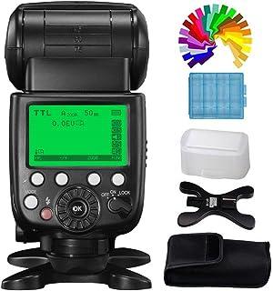 Pixel X800C Pro Flash Speedlite i-TTL HSS 1/8000s GN60 24G para Canon EOS cámaras (Reemplazar Canon 600EX II-RT)