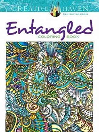 Creative Haven Entangled Coloring Book (Adult Coloring) by Dr. Angela Porter(2015-05-20)