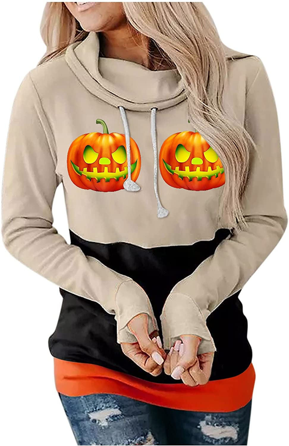 Goldweather Hooded Sweatshirts for Funny Hoodies Manufacturer regenerated product Max 55% OFF Women Halloween