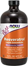 NOW Supplements, Natural Resveratrol, with Acai, Mangosteen, Pomegranate, Goji Berry, VitaBerry® & other Super Fruits, 16-...