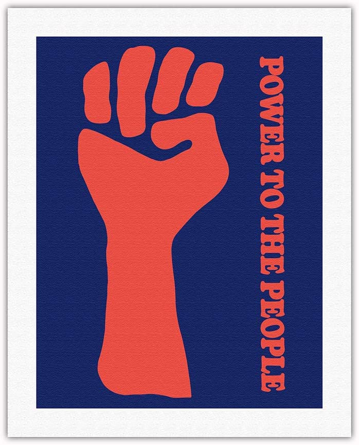 New sales Power to Don't miss the campaign The People - Black Vintage Political Party Po Panther