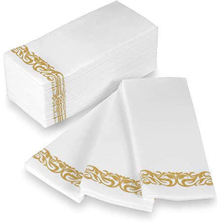 Gold Foil Stag Full Pack Napkins for Decoupage  Parties  Weddings