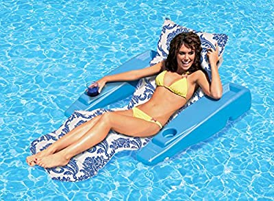 Poolmaster Swimming Pool Adjustable Floating Chaise Lounge