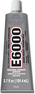 Eclectic Products 230021 2 Pack 3.7 oz. E-6000 Medium Viscosity Multi-Purpose Adhesive Uncarded, Clear