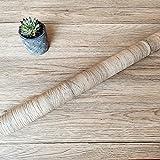 Decorflix Vinilo Papel Adhesivo para Muebles Para forrar amarios mesas estanterías paredes puertas. Vinilo Imitacion Madera Vintage Decorativo Autoadhesivo (Ocre vetas Café, 60x300cm)