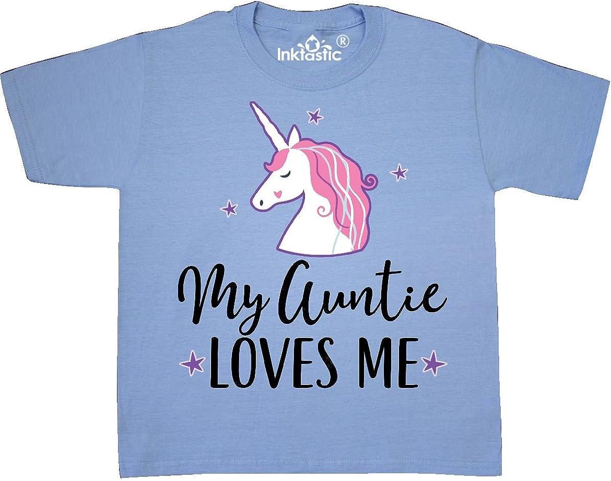 inktastic My Aunt Loves Me Unicorn Infant Creeper