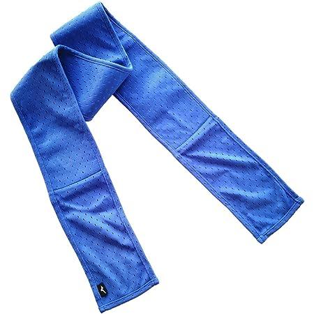 [ミズノ] クーリングアクセサリー ネッククーラー ひんやり感長持ち 暑さ対策 32JY9134 メンズ ブルー 日本 F (FREE サイズ)