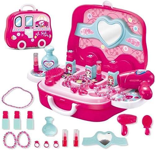 FLYSXP Juego De Simulación De Los Niños Cocina Casa Maleta Portátil Cocina Juguete Cocinar Arroz Cocina Niño Traje De Niño Juguetes educativos para Niños (Color   B)