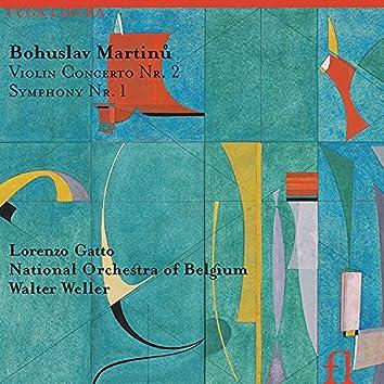 Martinů: Violin Concerto No. 2 & Symphony No. 1