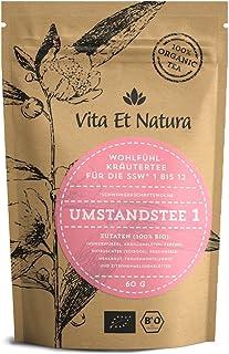 Vita Et Natura BIO Umstandstee 1 - Wohlfühl Schwangerschaftstee 1. bis 12. SSW 60g - 100% BIO