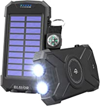 Best solar powered phone battery charger Reviews