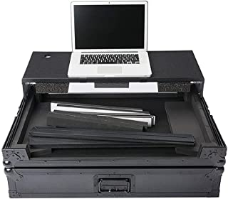 MAGMA 40981 Multi-Format Workstation XL Plus DJ Road Case for Pioneer, Numark, NI, Reloop, Denon, Akai, Gemini, Stanton