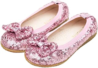 kids pink glitter shoes