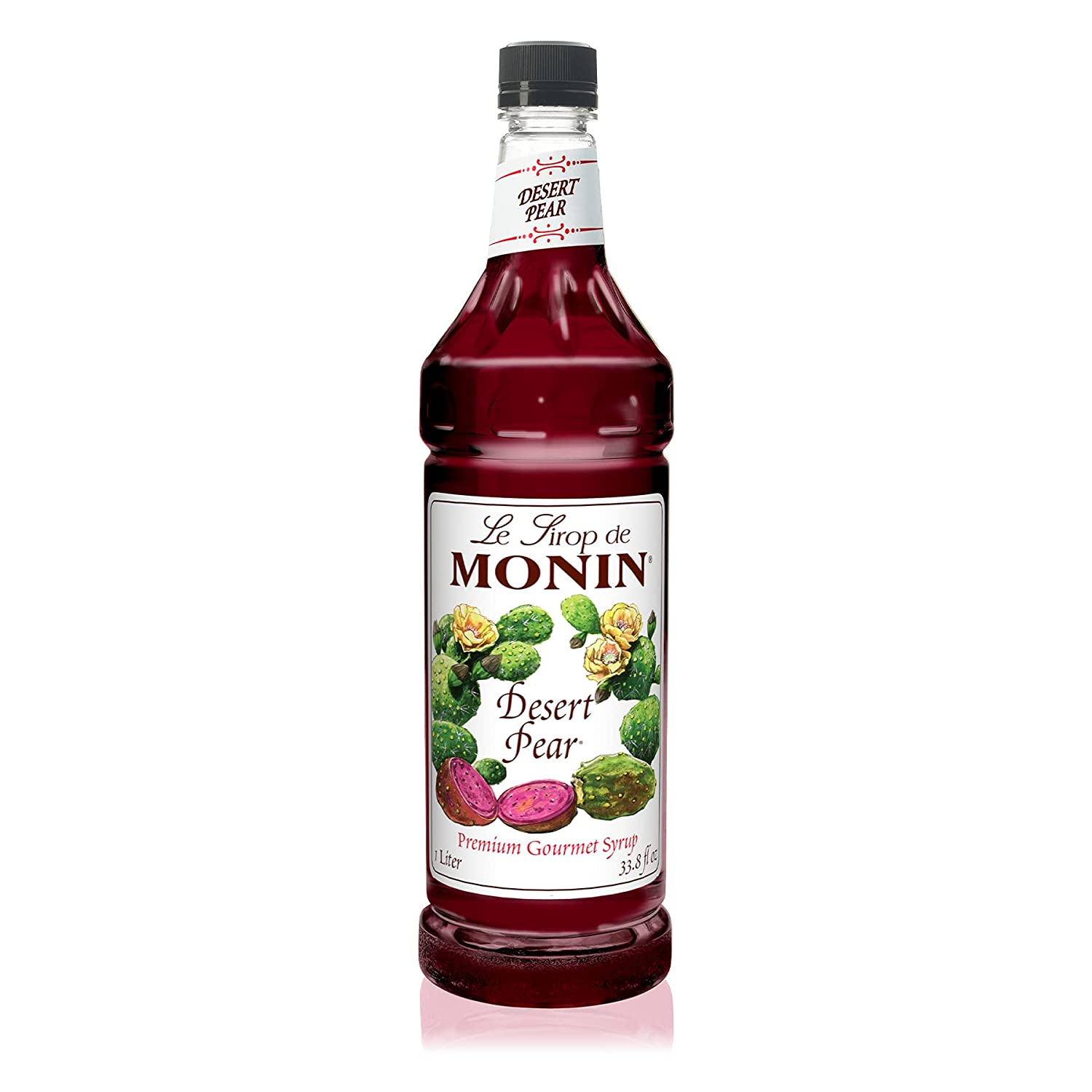 Houston Mall Monin - Desert Pear Syrup Bold Prickly New popularity Cactus Flavor of N