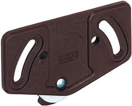 Hettich 25122 Slide LINE 55-loopdeel voor het aanschroeven, 15 kg, KS bruin