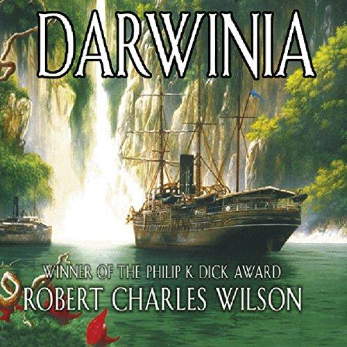 Darwinia  audiobook cover art