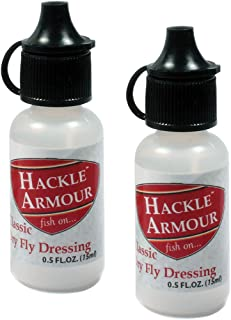 Hackle Armour Classic Dry Fly Dressing 2 Pack - Long Lasting Floatant