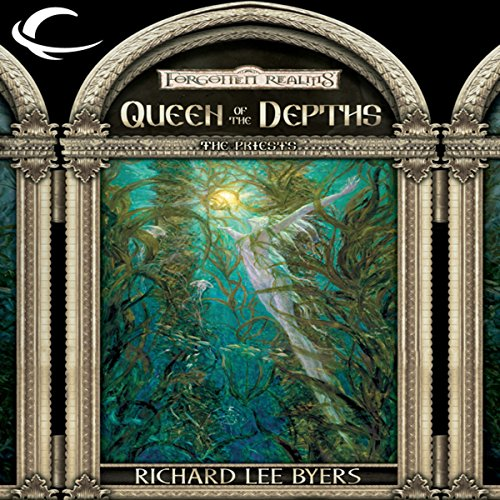 Queen of the Depths audiobook cover art