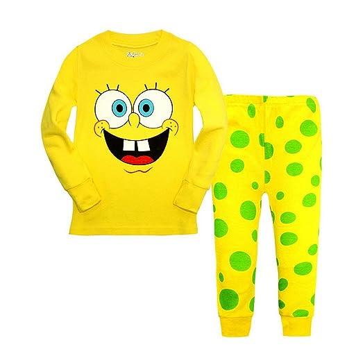550307314da40 Meteora Boys Dinosaur Pajamas 2 Piece Set Long Sleeve Sleepwear 100% Cotton  2-7T