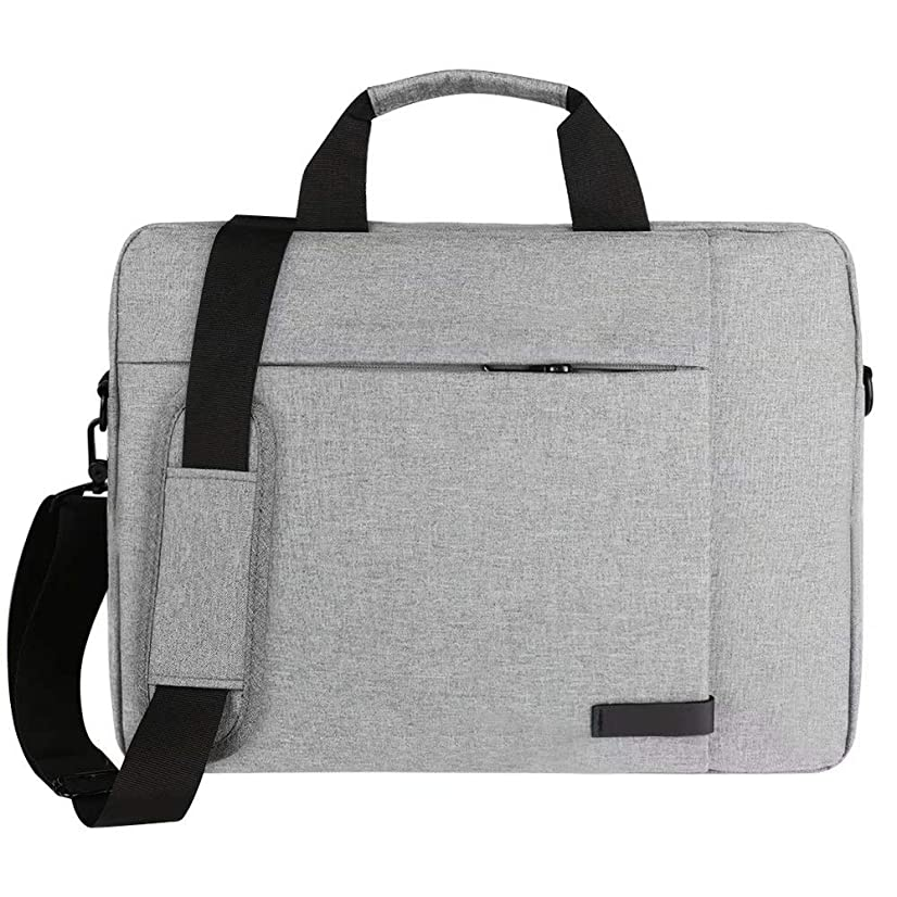 Laptop Carrying Case for MacBook Pro 15 | MacBook Pro 13 | MacBook Air | iPad Pro 12.9 | Laptops up to 15.5in (Grey)