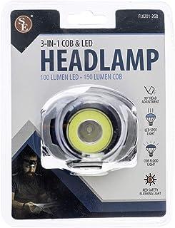 SE 3 合 1 COB 和 LED 头灯,带可调节头带 FL8201-2GB