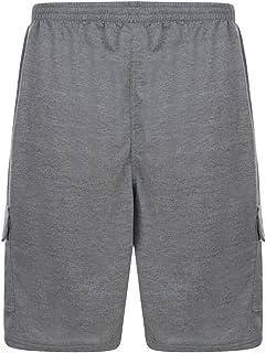 Kam Jeanswear Men's Jersey Cargo Shorts