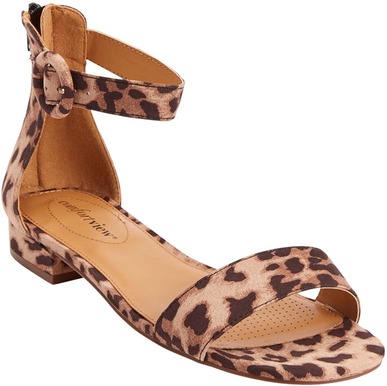 贈物 Comfortview Women's Wide Width Alora The Sandal スピード対応 全国送料無料