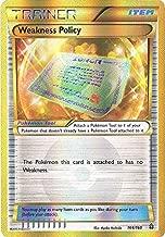Pokemon Primal Clash Weakness Policy - 164/160 - Secret Rare