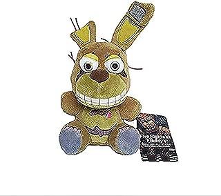 FNAF Five Nights at Freddy's Plush Bonnie Bonnet Toy Bonnie Springtrap Plush Stuffed Toys Doll Brown