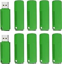 Memoria USB 4GB 2.0, KOOTION Pen Drive Flash Drive USB Pendrives, Pack de 10 Unidades Pen USB Stick, 10 Piezas Flash USB 2.0, Verde