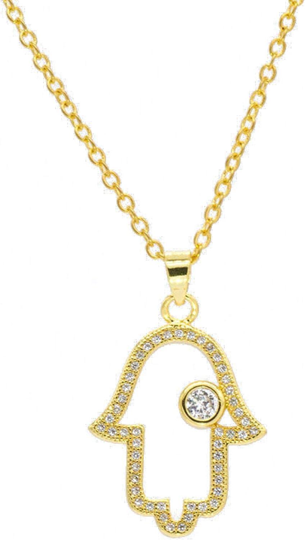 Soldering YYJLL Trendy Gold Rose Hand for Necklace Women Cheap sale Men Pendant
