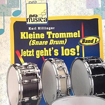Kleine Trommel (Snare Drum) - Jetzt geht`s los !
