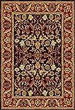 Floare Carpet Alfombra Oriental 200x300 cm, 100% Lana, Azul, Rojo !!! (200_x_300)