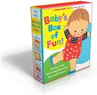 Baby's Box of Fun: A Karen Katz Lift-The-Flap Gift Set: Toes, Ears, & Nose!/Where Is Baby's Belly Button?/Where Is Baby's ...