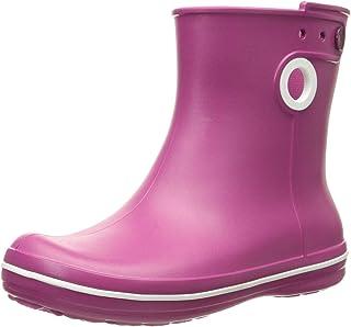 Crocs Jaunt Shorty Boot W, Botas de Agua para Mujer, Rosa (Raspberry), 41/42 EU