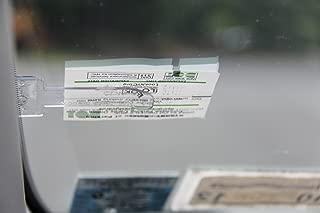 Windshield Muni-Meter Parking Ticket Holder Clip