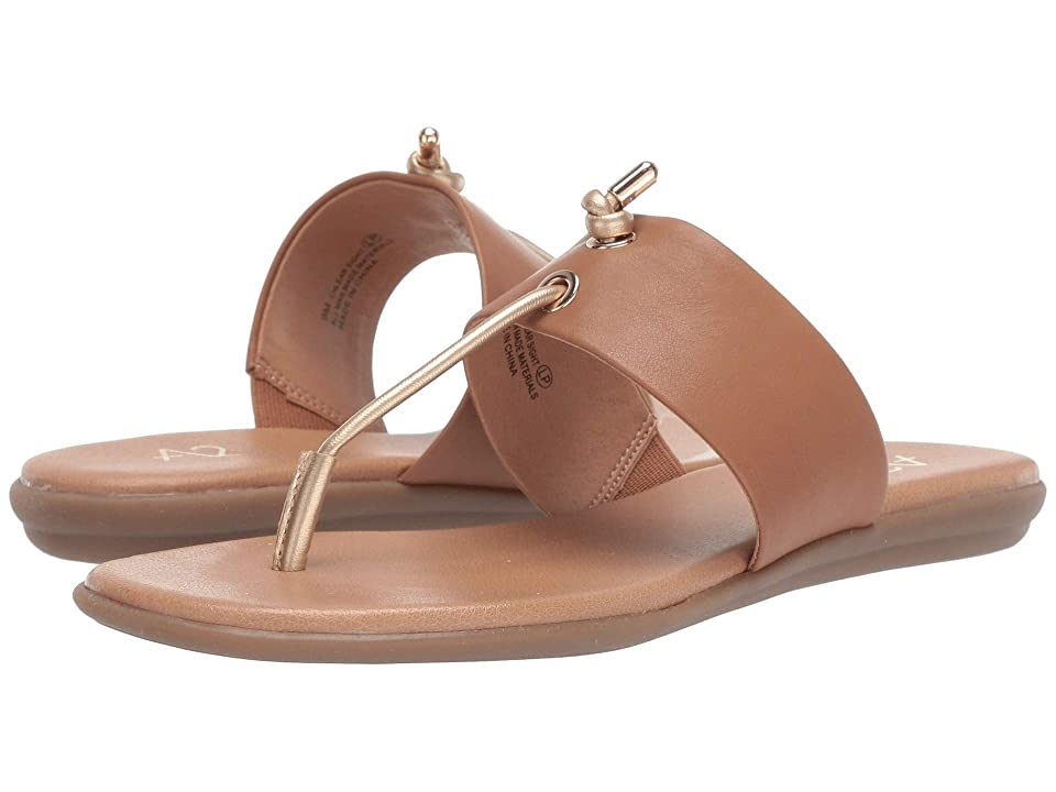 A2 by Aerosoles Chlear Sight (Tan/Gold PU) Women's Sandals, Brown