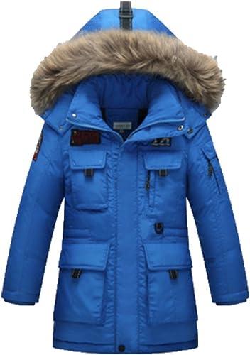 OPSUN Unisexe Enfant Garçon Fille Veste d'hiver Manteau Doudoune Pardessus 170cm