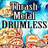 Fast Thrash Metal Drumless Backing Track With Metronome | 210 BPM Best Quality