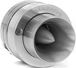 Massive Audio CT4 Neodymium Tweeter - Super Bullet Tweeter Speaker for Cars. Heavy Duty Titanium Tweeter Built as Competit... photo