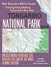 Tongariro National Park Trekking/Hiking/Walking Topographic Map Atlas Tolkien's The Lord of The Rings Filming Location New Zealand North Island ... (Travel Guide Hiking Maps for New Zealand)