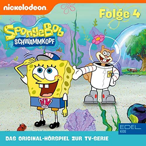 SpongeBob Schwammkopf 4. Das Original-Hörspiel zur TV-Serie Titelbild