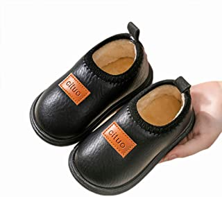 LASIMAO Zapatillas Impermeables para bebé, Zapatillas de Espuma de Memoria, Chicas niños Zapatos de Invierno Zapatillas de...