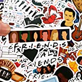 50 Piezas One Pack 100 Set Friends Sticker TV Series Show Gifts para Maleta DIY Laptop Guitarra Skateboard TeléFono Pegatinas Impermeables