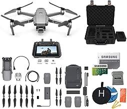 $2249 » DJI Mavic 2 Pro with DJI Smart Controller Fly More Kit Combo Drone Bundle, Landing Pad, 128GB SD Card, Waterproof Hard Carrying Case
