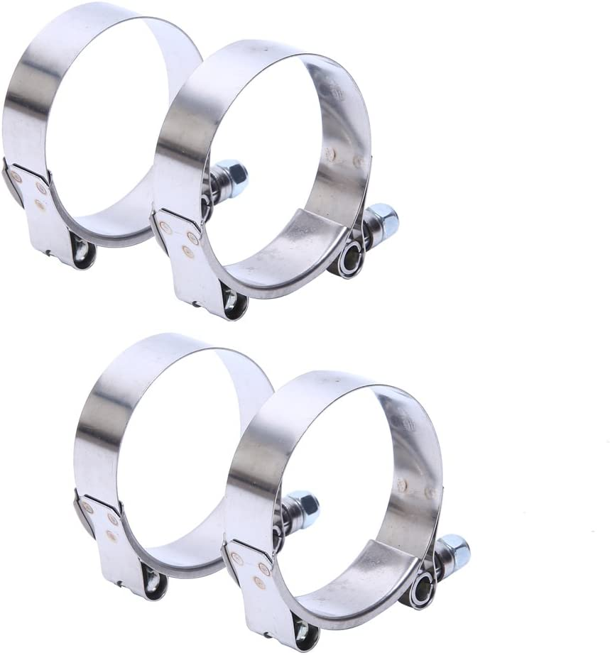 HiwowSport 79-87MM Free shipping on posting reviews Working Range T-Bolt Fi free shipping Clamp Steel Stainless