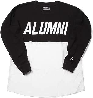 """Tha Alumni Clothing (アルムナイクロージング) 長袖 ロゴTシャツ ホワイト×ブラック""""RUNNER JERSEY TEE"""" [並行輸入品]"""