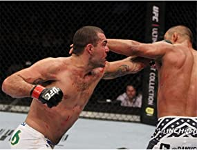 Mauricio RUA Shogun vs Henderson MMA Mixed Marcial-Wall Sticker Poster Light Canvas Decoration Wall art60x80cm con Marco