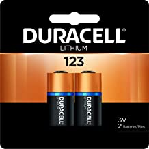 Duracell – 123 3V Lithium Photo Size Battery – long lasting battery – 2 count